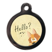 PS Pet Tags - Hello? Pet ID Tag