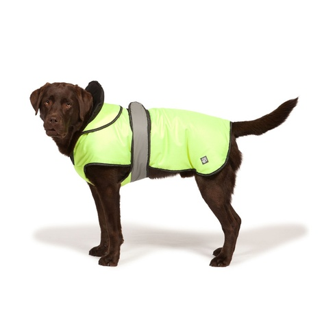 Hi Viz Two in One Reflective Dog Coat