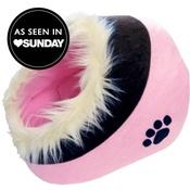 Hem & Boo - Pink & Black Cat Cave