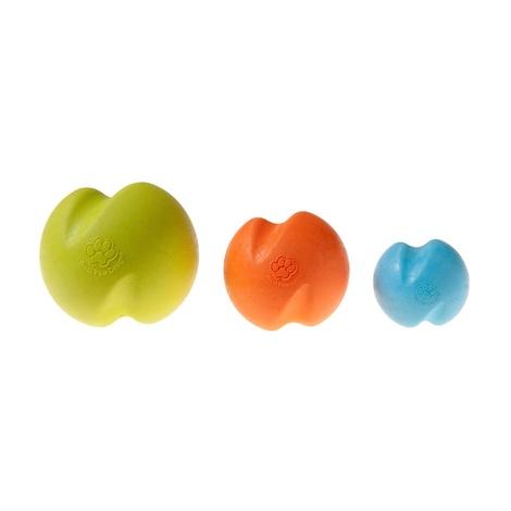 Zogoflex® Jive Dog Ball – Tangerine 3