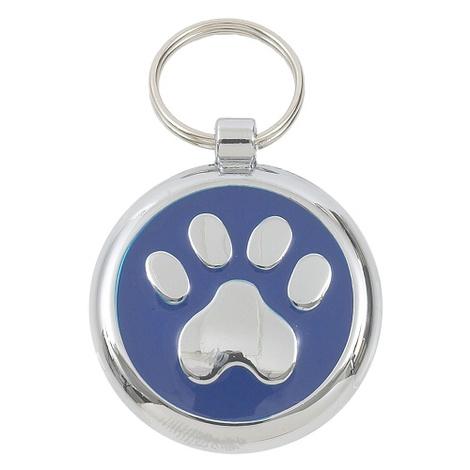 Smarties Blue Paw Pet ID Tag