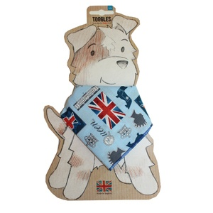 Toggles Rule Brittania Puppy & Dog Bandana