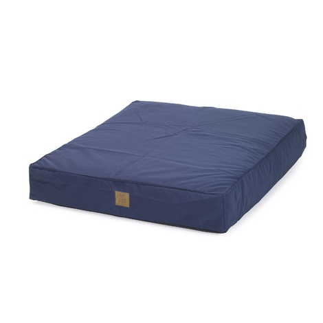 Navy Deep Filled Water Resistant Dog Bed