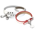 Polo Club Dog Collar & Lead Set - Red Edging