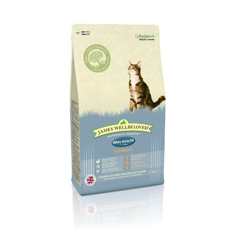 Turkey & Rice Oralcare Dry Food Cat Food
