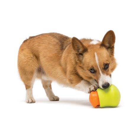 Zogoflex® Toppl Treat Toy – Tangerine 4