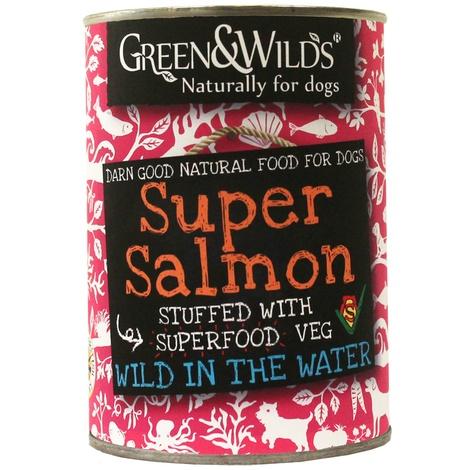 Six Pack of Super Salmon Premium Dog Food