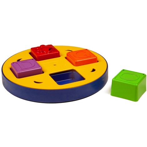 Doggy Blocks Spinner Interactive Treat Game