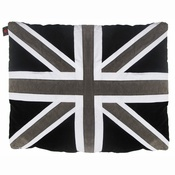 Creature Clothes - Cat Nappa Union Jack – Black/Grey