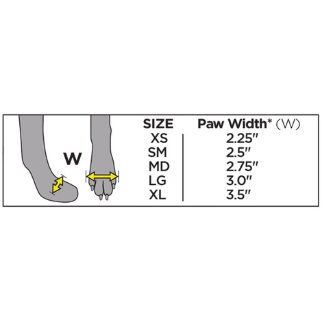 Set of 4 ThermoPaws Dog Boots 3