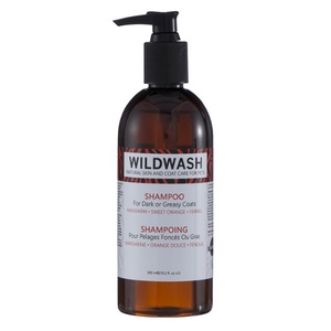WildWash Pet Shampoo for Dark or Greasy Coats (300ml)