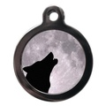 Howling Wolf Pet ID Tag
