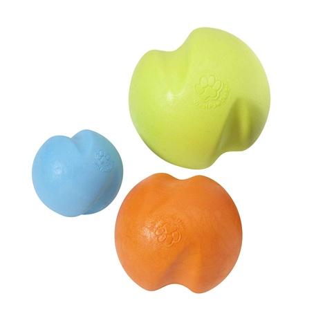 Zogoflex® Jive Dog Ball – Tangerine 2