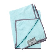 FuzzYard - Microfibre Drying Towel for Puppies - Blue and Grey