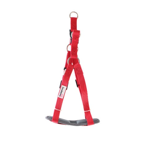 Padded Bold Harness - Red