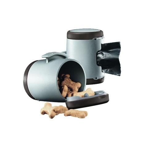 VARIO Multibox Treat & Bag Dispenser - Brown