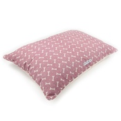 Mutts & Hounds - Heather Bone Linen Pillow Bed