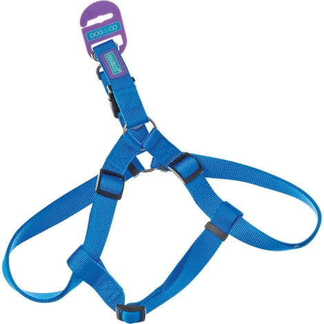 Blue Nylon Dog Harness