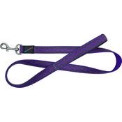 Hem & Boo - Zigzags Dog Lead - Purple