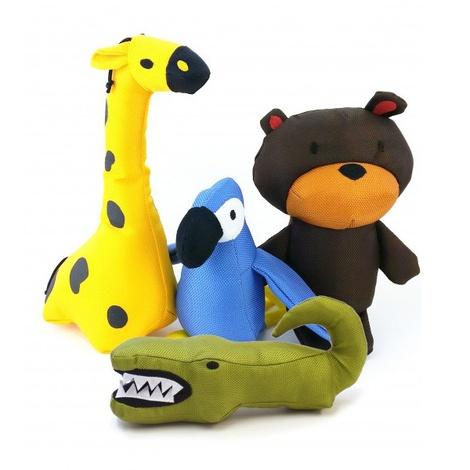 Aretha the Alligator Squeaky Plush Dog Toy 5