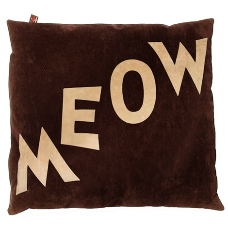 Cat Nappa Meow – Tan/Chocolate