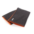 Grey & Orange Pet Blanket 2