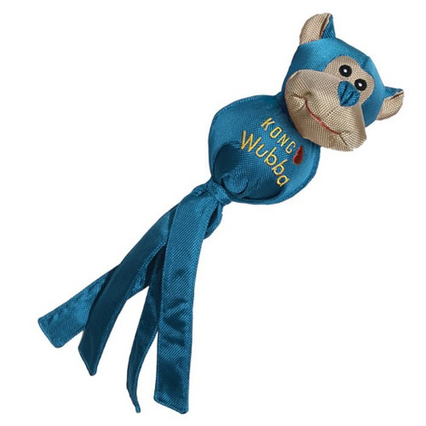 KONG Wubba Ballistic Friend Dog Toy - Monkey