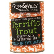 Green and Wilds - Terrific Trout Premium Dog Food