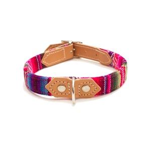 Pink INCA Dog Collar