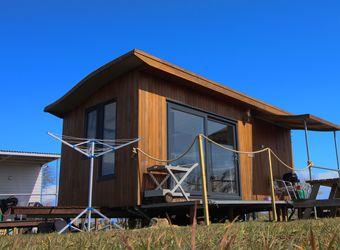 Rhossili Scamper Holidays - Ocean Shepherd Hut