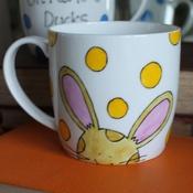 Laura Lee Designs - Oh I Do Love Bunnies Mug