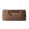 Deeply Dishy Luxury Dog Bed - Dotty Chocolate 3