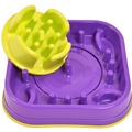 2 in 1 Anti Gobble Feeder and Interactive Game -Purple 2