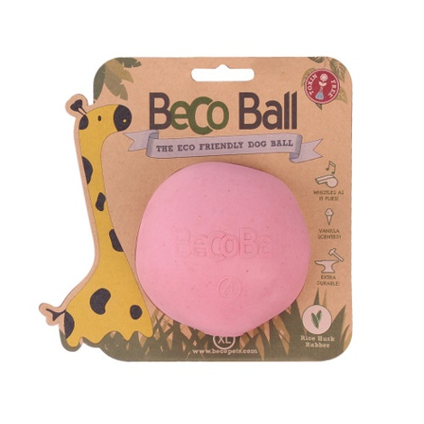 BecoBall Dog Toy - Pink 3