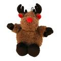 Festive Ball Buddy Dog Toy – Reindeer