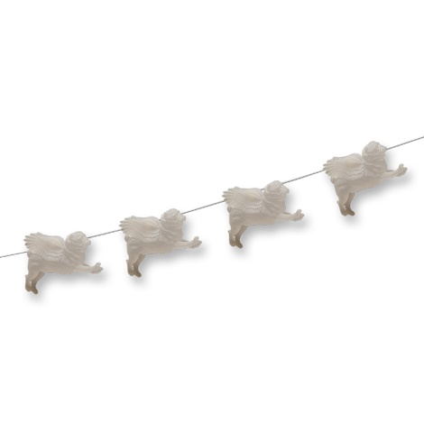 Pug Fairy Lights - Clear