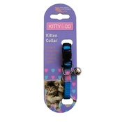 Hem & Boo - Snag & Snap-Free Kitten Collar - Blue