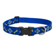 "Collarways - 3/4"" Width Dapper Dog Lupine Dog Collar"