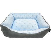 Hem & Boo - Baby Soft Mini Rectangle Dog Bed - Blue