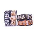 4cm width Fleece Comfort Dog Collar - Safari Camo 3
