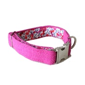 The Spotted Dog Company - Nessie Harris Tweed Dog Collar