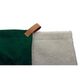 Dog Blanket - Fabric and sherpa wool - Richmond 2