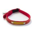 Kiwi Shweshwe Red Cat Collar 2