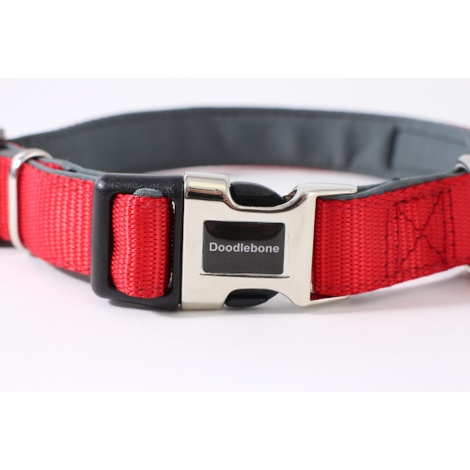 Bold Padded Collar - RED 3