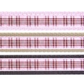 Scottish Raspberry Tartan Dog Collar – Light Pink 4