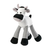 House of Paws - Mooing Cow Corduroy Dog Toy
