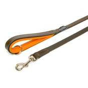Dogs & Horses - Orange Colours Leather Lead