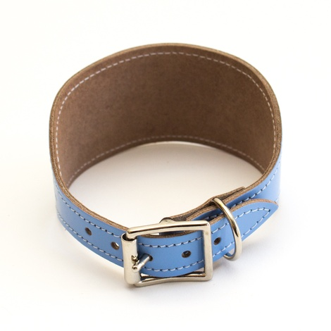 Mosaic Blue Hound Collar 3