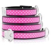 Cool Dog Club - Cool Dog K9 Striker MK2 Polka Dot Pink Dog Collar