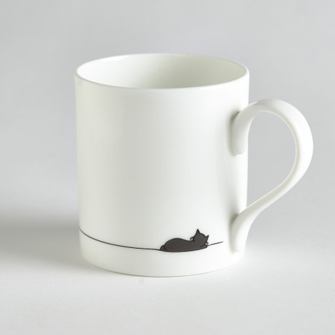 Sleeping Cat Mug